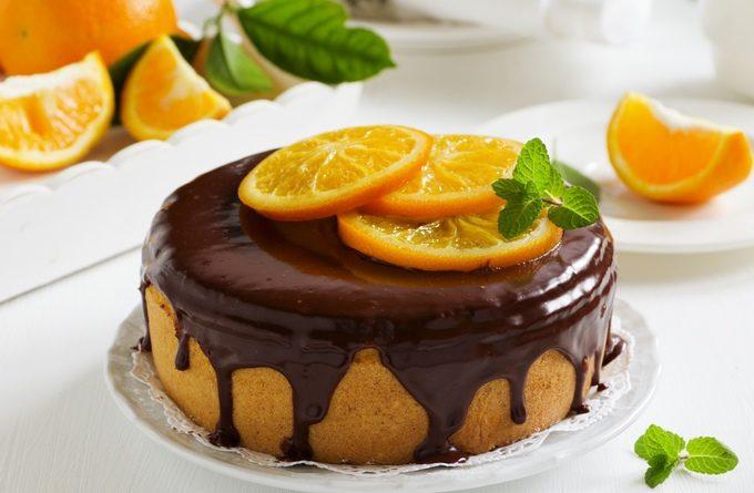 Апельсиновый пирог за 10 минут в микроволновке