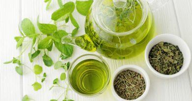 Зеленый чай и косметика