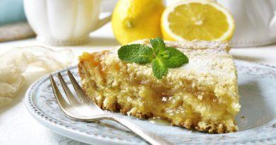 Лимонный пирог: простой рецепт