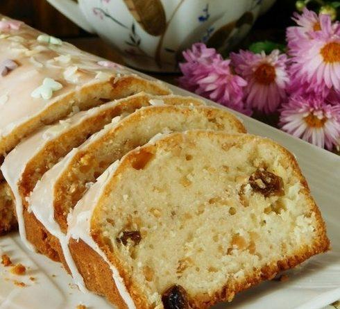 Рецепт кекса с изюмом и апельсином