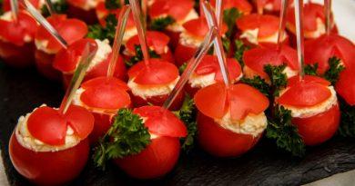 Фаршированные коктейльные помидоры