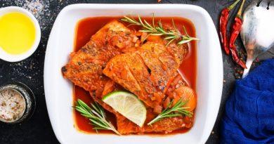 Сочная рыба в томатном соусе