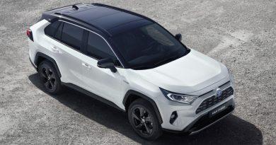 Новый Toyota RAV4 стал экологически чистым автомобилем