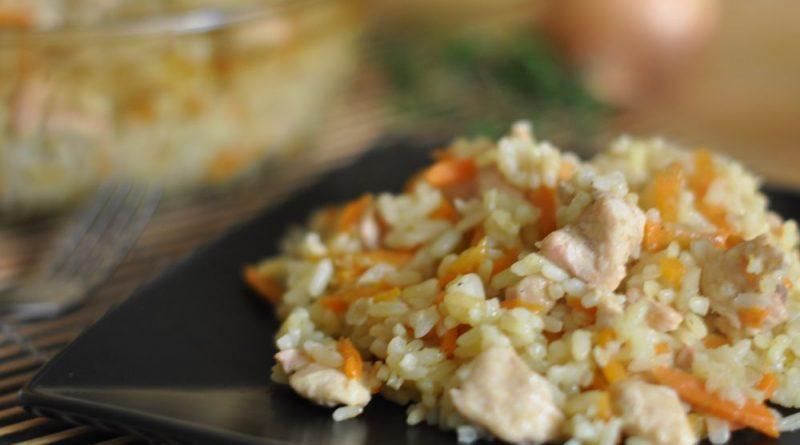 Курица с рисом по-египетски