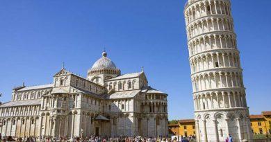 «Падающая» Пизанская башня воспряла на 4 сантиметра