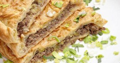 Мясной пирог из Греции
