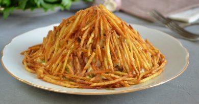 Как приготовить картофельный салат с кукурузой