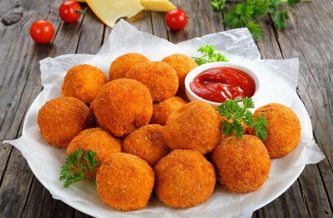 """Сырные крокеты: рецепт греческих """"Тирокрокете"""""""
