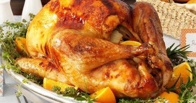 Новогодние рецепты: курица в мандариновой глазури