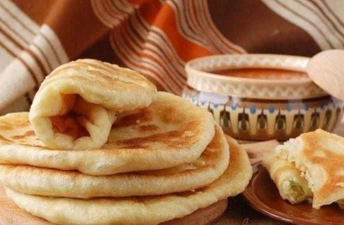 На скорую руку: лепешка «Мексиканка» из картофельного пюре