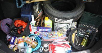 Обязательные инструменты в машине