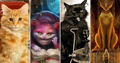 Как появились самые известные литературные коты – милые и не очень