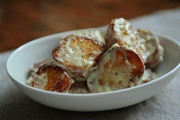 Простой картофельный салат по-испански