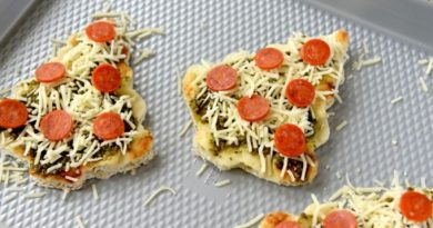Новогодние рецепты: пицца «Елочки»