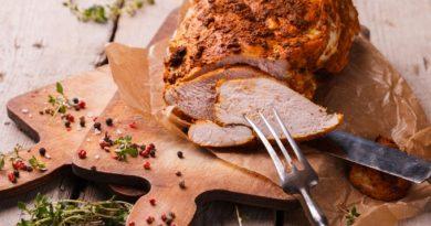 Куриная пастрома - и на праздник, и на бутерброды
