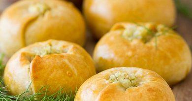 Пирожки кныши с картофелем