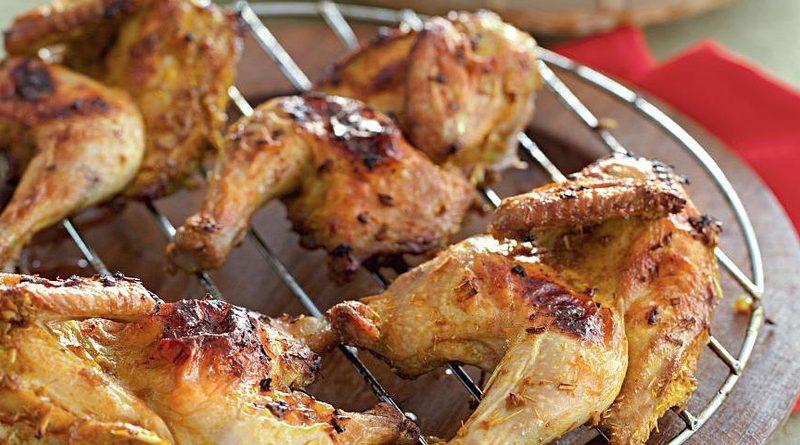 Тайский цыпленок-барбекю