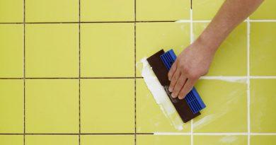 Как обновить швы кафеля