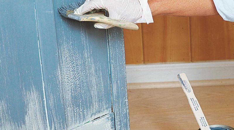 Как перекрасить мебель самостоятельно