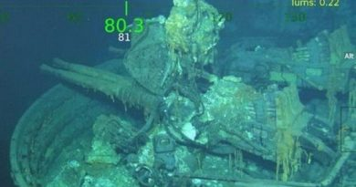 Исчезновение и обнаружение крейсера