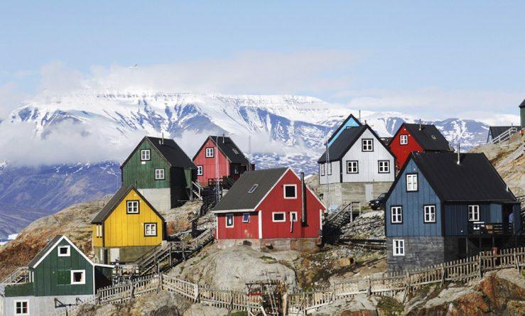 Какой стране принадлежит Гренландия?