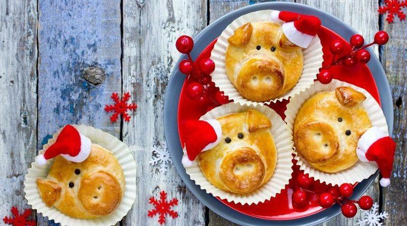 Новогоднее печенье «Пятачки»