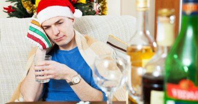 Как избавиться от похмелья на 1 января