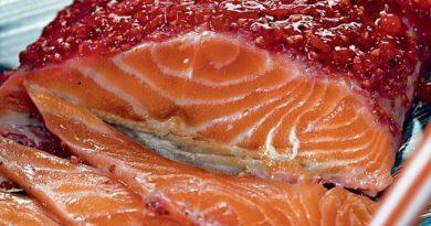 Вкуснейший маринад для лосося