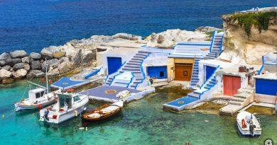 10 интересных островов Греции для комфортного отдыха