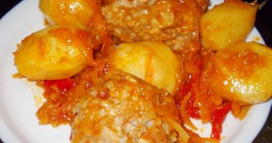 Вкусные тефтели с картошкой