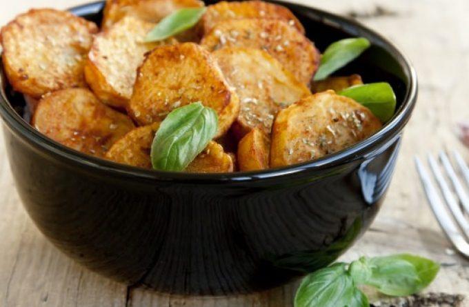 Запеченная картошка с паприкой