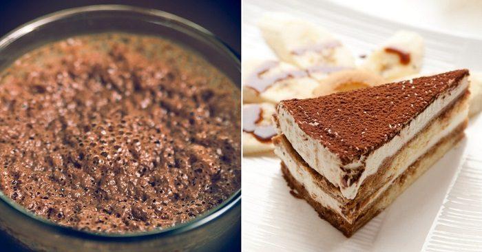 Торт с шоколадом и бананами без выпечки