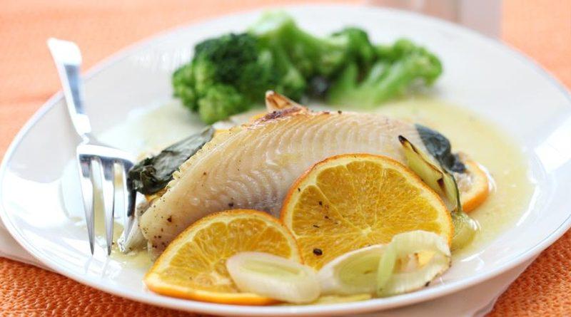 Рыба, запеченная в пергаменте