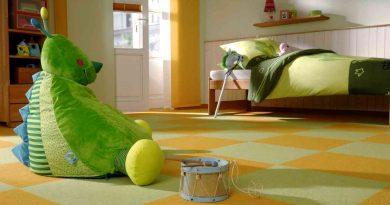 Напольное покрытие для детской: варианты, плюсы, минусы