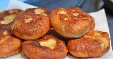 Вкусненькие пирожки с мясом