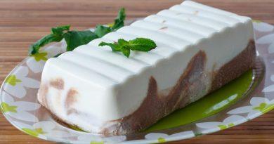 Молочно-желейный торт без выпечки