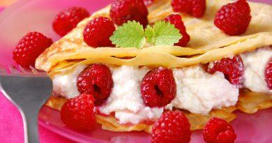 Десертные блины