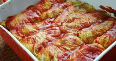 Рецепт приготовления голубцов по-румынски