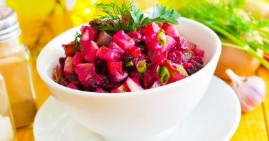 Свекольный салат по-корейски