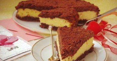 Вкуснейший творожный тортик