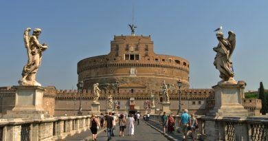 Замок Святого Ангела в Риме. Интересные факты.