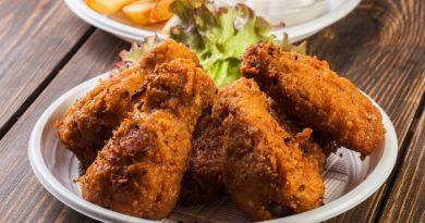 Запеченные хрустящие куриные крылышки
