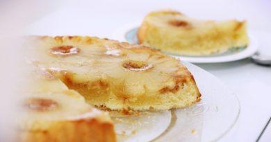 Ананасовый пирог - перевертыш