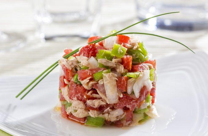 Нежный салатик из тунца к 8 марта