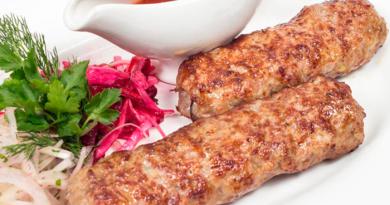 Люля-кебаб. Легкий рецепт, быстро и вкусно