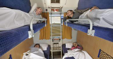 Какие места на поезде самые комфортные для долгих поездок