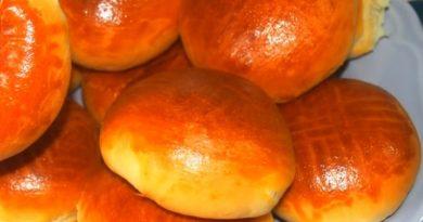 Рецепт творожных булочек с начинкой