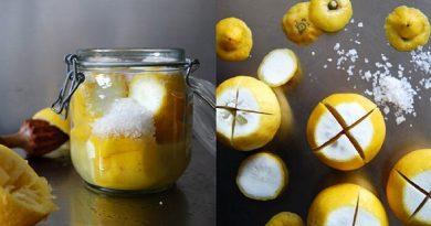 Соленые лимоны по-мароккански