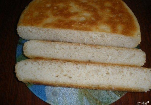 Вкусный хлеб на сковороде