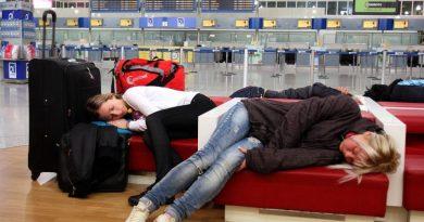 Что делать, если предстоит ночевка в аэропорту